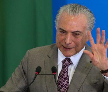 Brasília - O presidente Michel Temer lança o Cartão Reforma, em cerimônia no Palácio do Planalto (Valter Campanato/Agência Brasil)